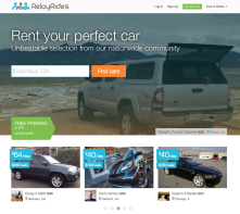 RelayRides allows users to rent their neighbors cars or rent their cars out to their neighbors!