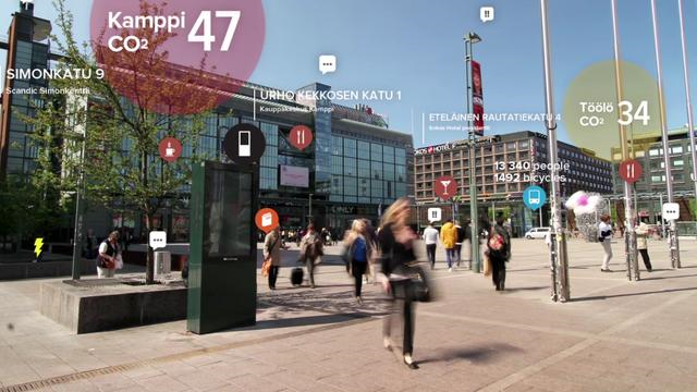 URBAN SCREENS : Efficient & Interesting way to connect the city with their citizens. http://helsinki.urbanflow.io/
