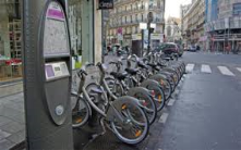 Quite relevant to me , could I fancy a town without bikes now ?<br/>It shows how cities become greener