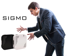 Sigmo Audio Language Translator Sigmo voice translating device,which claims to allow the user to translate immediately diff.lan.