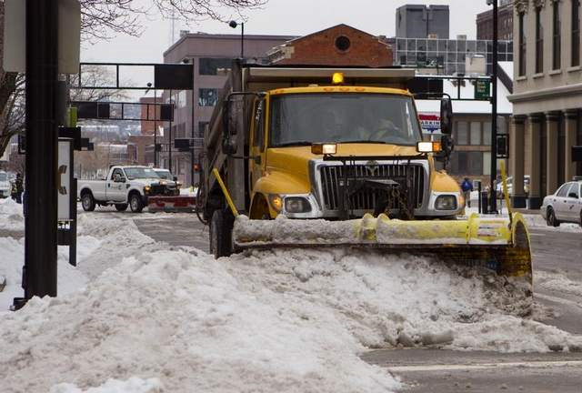 Snow Plow Routing applications using GIS data and technology.