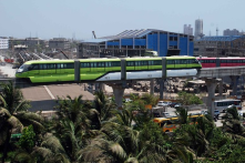 INDIA's first monorail in MUMBAI. This will save travel time, produce less noise & decongest road traffic at low travelling cost