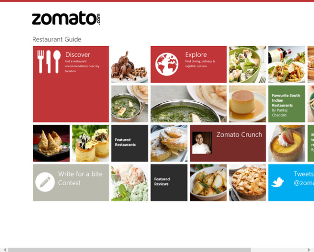 Zomato: a online resource for restaurants based on user rating system