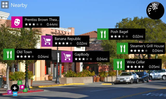 Here City Lens by Nokia: s powerful tool to navigate the city