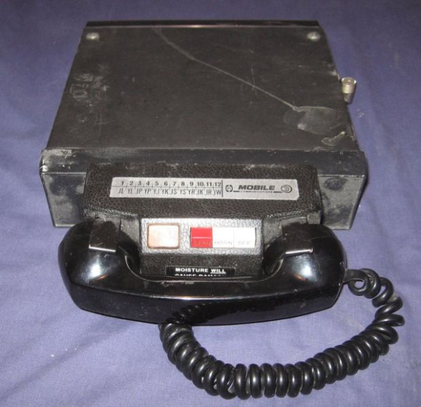 Mobile Radio Telephones, they were the predecessors of the first generation of cellular telephones