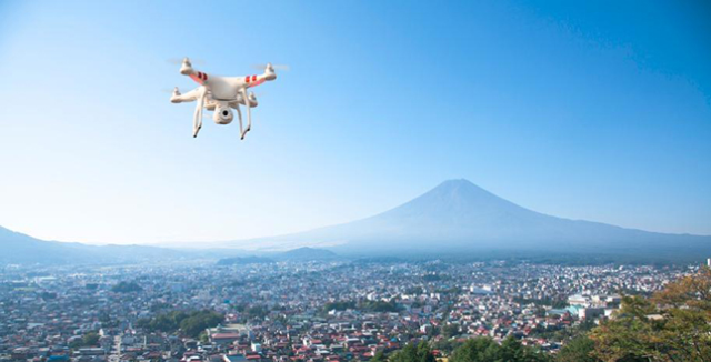 "Quadcopters can be used for ""last mile"" deliveries. Some companies already announced this service."