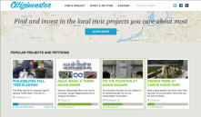 CITIZEN INVESTOR : Platform for crowdfunding local government projects & engaging citizens.