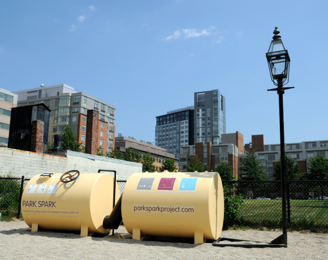 The Park Spark project - Introducing a Methane Digester into Public Parks to collect dog waste and transform it into energy.