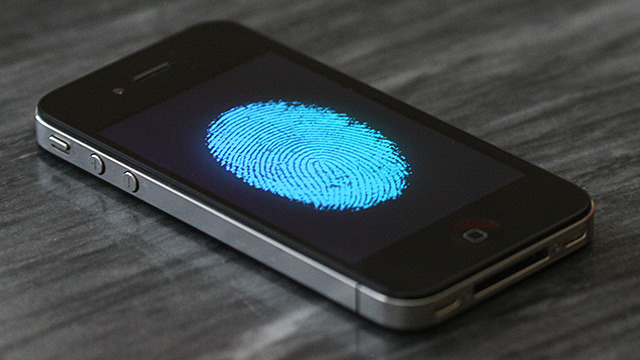 This Iphone uses finger print sensor to unlock. A lot of people use this app in my city.