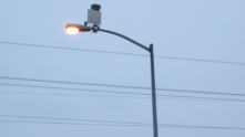 East Palo Alto's Shotspotter gun-shot detection system includes sensors attached to light poles.