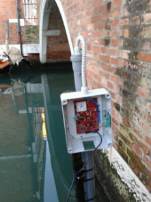 "In Venice, a new project involving open data, sensor tech, is aiming to tackle the problem of High tide. http://www.acqualta.<wbr/><span class=""wbr""></span>org"