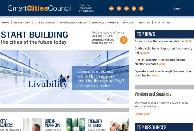 Interesting resource on smart cities: http://smartcitiescouncil.com/