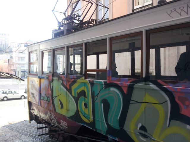 Tram Lisbon. No carbon emission.