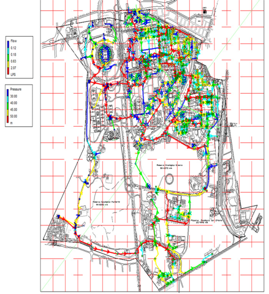 A hydraulic model analysis of the distribution system of drinking water at the UNAM (mexicocity)  using EPANET software