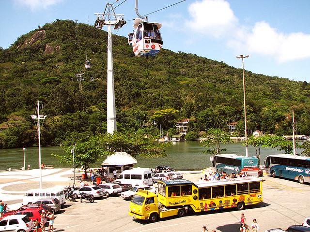 Cable car in Balneário Camboriú.