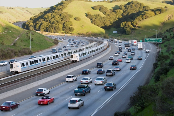 New trains being implemented in the Bay Area's BART http://www.bart.gov/about/projects/cars/sustainability