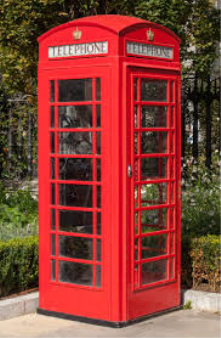 Mobile phones have overtaken the need for public telephone boxes in the UK. The much loved 'red phone box' is sadly disappearing