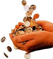 coins money are replaceable!! with what