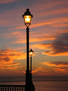 street lighting (electric power, of course). It changed the way we live and enjoy our streets, parks and public buildings