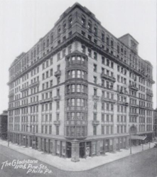"One of the first high rise buildings made possible through frame construction. <br/>Source : http://blog.philadel<wbr/><span class=""wbr""></span>phiarealestate.com"