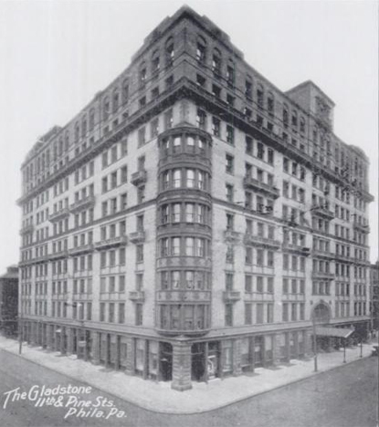 One of the first high rise buildings made possible through frame construction. 