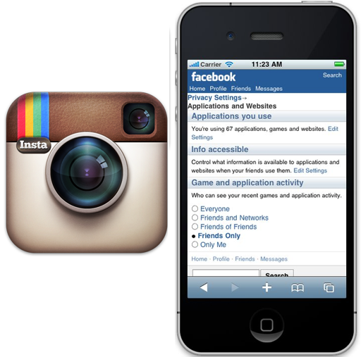 Facebook Zero and instagram makes people share their feeling, success, trials, events and etc.