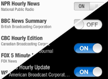 Hourly News : app that plays the most recent news updates from multiple sources