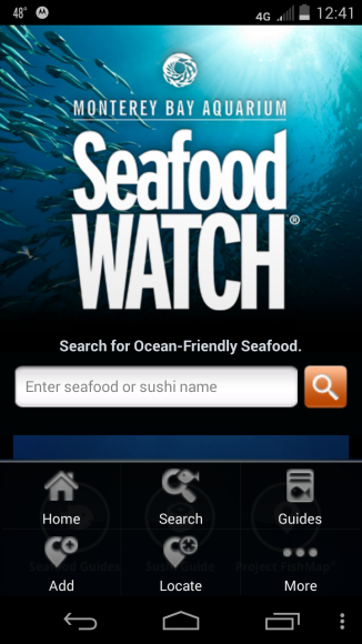 Seafood Watch helps me make better choices.