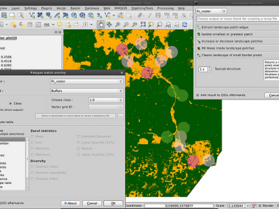 QGIS : A Free and Open Source Geographic Information System