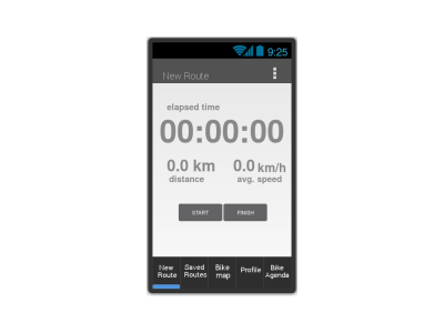 Cycle Route App