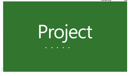 Microsoft project for projects scheduling