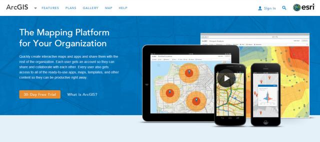 ARC GIS online