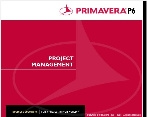 PRIMAVERA FOR PROJECT MANAGEMENT
