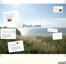Prezi makes it easy for groups to work together from remote locations.
