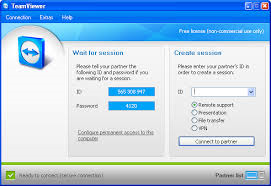 TeamViewer help us in connecting with any other PC around the world in few seconds.