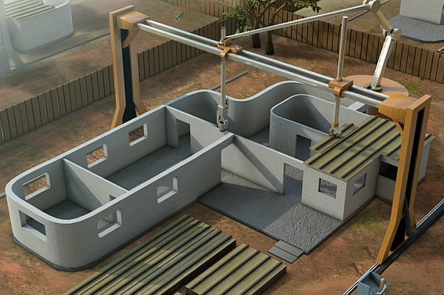 3D house Printer
