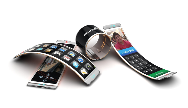 Bendable, slap-watch phones.