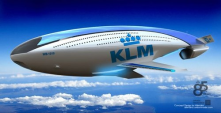 German airline KLM is looking to save money and go larger with high-speed blimps replacing standard airplanes by 2030.