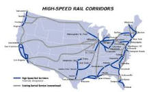 "It's about time that the U.S. joined the high speed rail ""train."" Seriously. AND its decades away. Shameful."