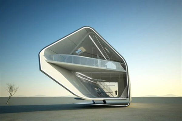 "Future of housing. New definition to the ""mobile homes."""