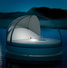 Floating capsules for a hotel stay. I'd partake.