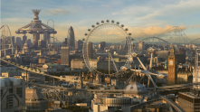 London in 100 years. I'm looking forward to that.