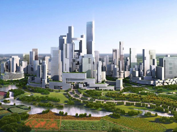 Future cities with a lot of green. That's what i'm looking forward to.