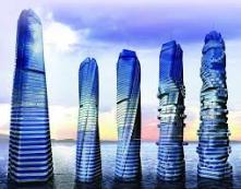 Rotating towers