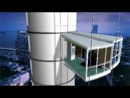 Rotating towers cantileaver