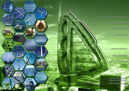 Vertical urban farms -http://www.archdaily.com/22969/dragonfly-vertical-farm-concept-by-vincent-callebaut/