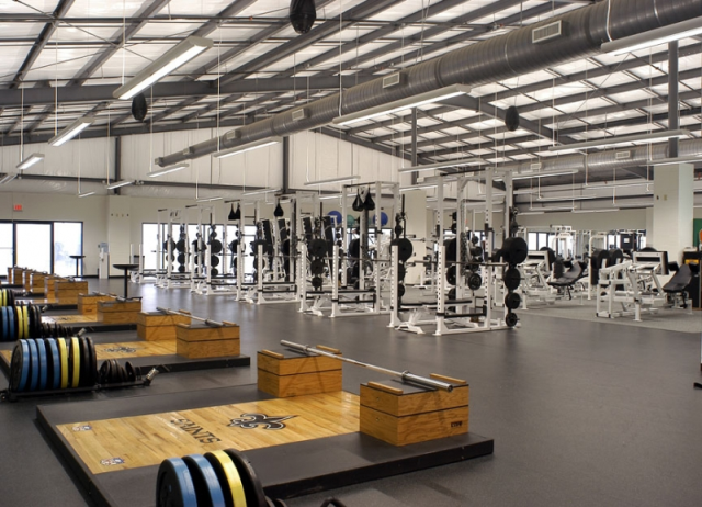 State of the art workout facilities