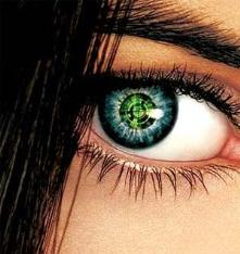 Interactive contact lens.