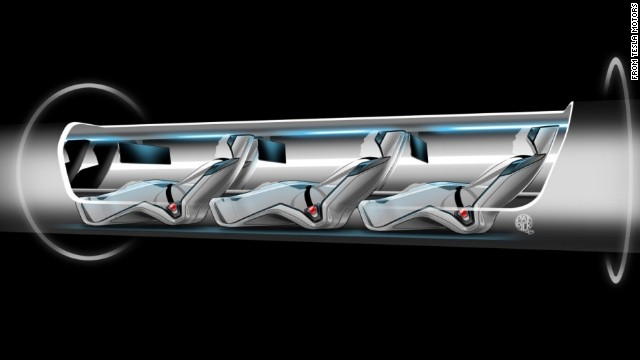 Hyperloop - super high speed transport. just watch the geese.