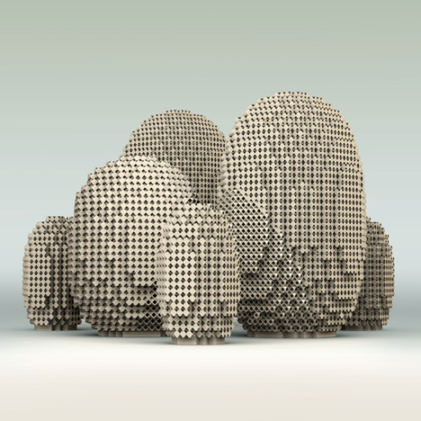 Conceptual cooling units called Microclimates by PostlerFerguson would be made from 3D-printed sand to lower air temperatures.